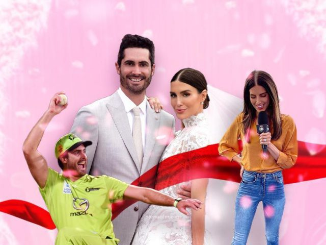 Quetta gladiator star Ben Cutting marries his longtime girlfriend and PSL presenter Erin Holland