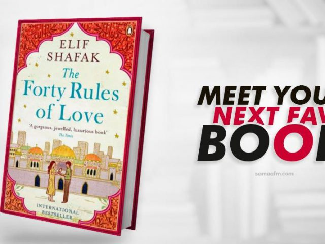 Book Review: Forty Rules of Love By Elif Shafak