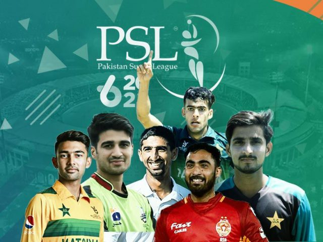 The emerging players for Pakistan super league 6