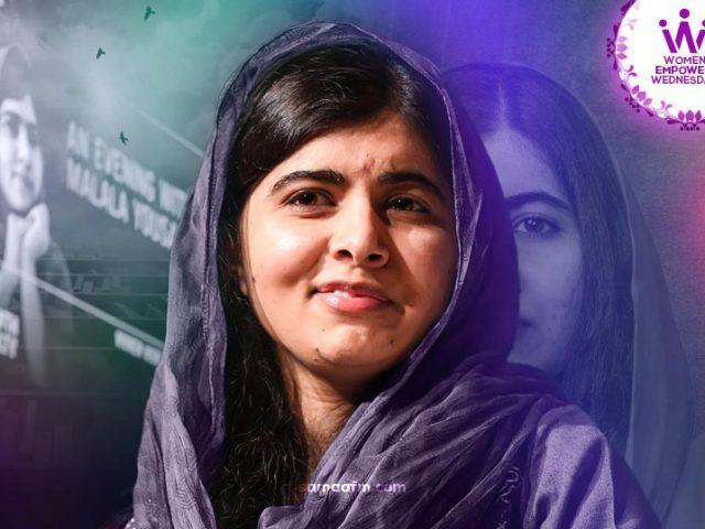 WomenEmpowerWednesday: A Remarkable Inspiration Malala Yousufzai