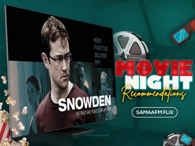 Friday Flix Movie Review: Snowden