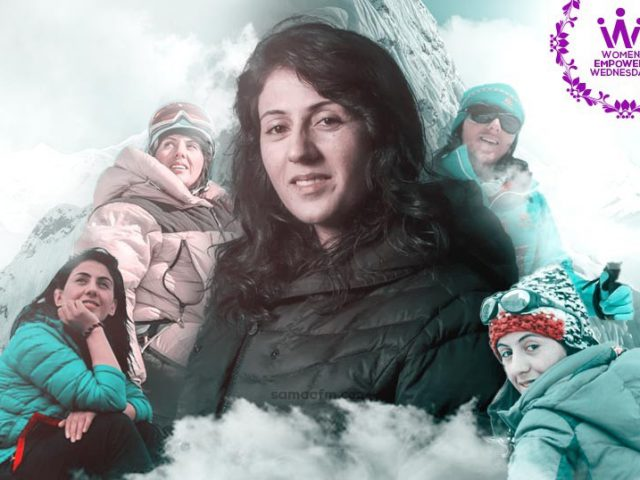 WomenEmpowerWednesday: Reaching Summits with Pride Samina Baig