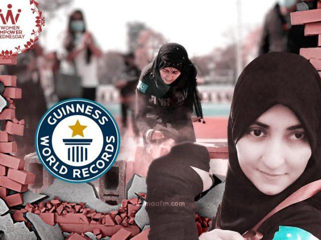 WomenEmpowerWednesday: Brick Smashing Guinness Record Holder Neelofar Shirazi
