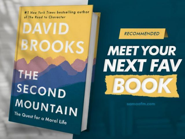 BookReview: The Second Mountain: The Quest for a Moral Life by David Brooks