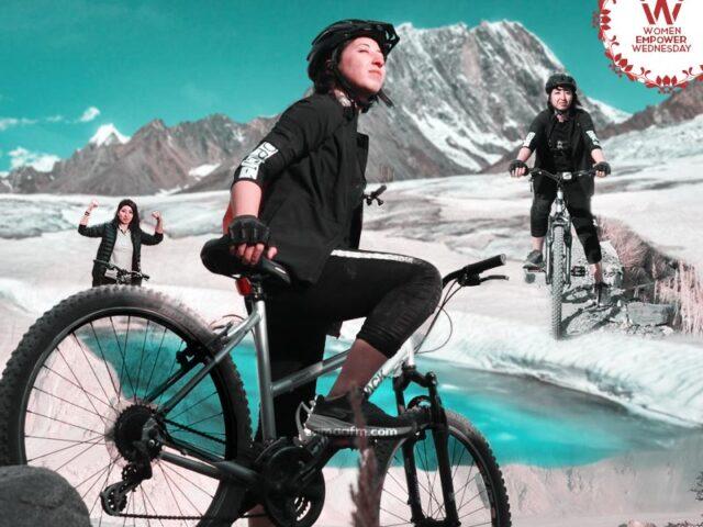 WomenEmpowerWednesday: Reaching heights on wheels Samar Khan